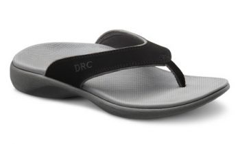 Thongs with Heels and Arch Support